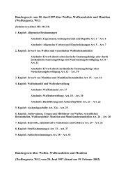 Waffengesetz Schweiz (PDF)