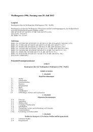 Waffengesetz 1996, Fassung vom 25. Juli 2012