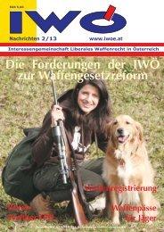 Nachrichten Die aktuellen IWÖ-N als PDF-Datei