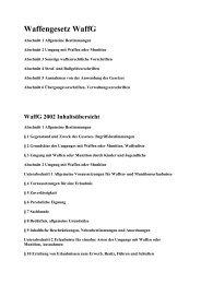 Waffengesetz Deutschland (PDF)