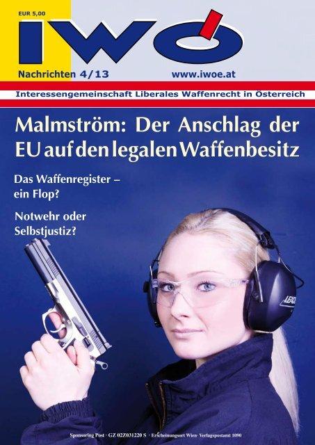 Malmström: Der Anschlag der EU auf den legalen Waffenbesitz