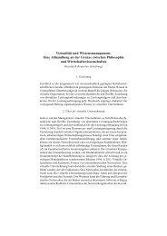 Virtualität und Wissensmanagement. Eine Abhandlung an der ...