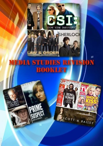 Media Studies Revision Booklet