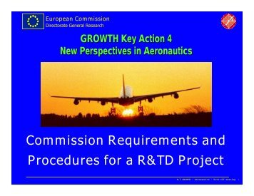 European Commission Requirements for Projects - IWR