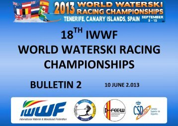 Bulletin 2 - International Water Ski Federation