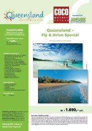 Queensland – Fly  & Drive