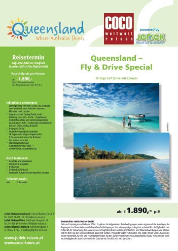 Queensland – Fly  & Drive