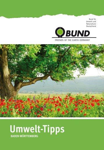 BUND Umwelt-Tipps Schwäbisch Hall 2014