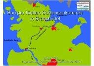Bau der fünften Schleusenkammer in Brunsbüttel - IWSV