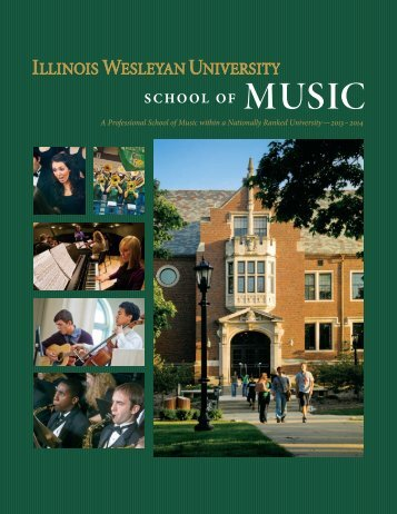 the school of Music - Illinois Wesleyan University