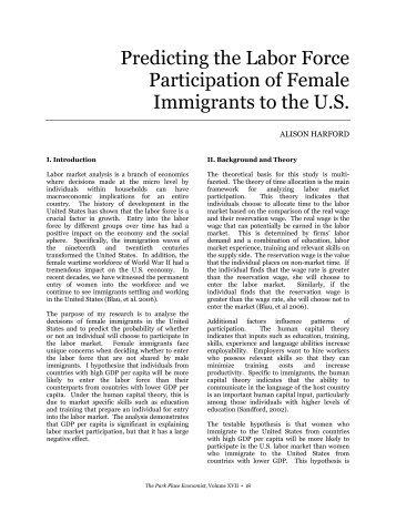 Womenomics: The Importance of Female Workforce Participation in Japan