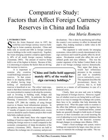 foreign direct investment and factors affecting Factors influencing foreign direct invest-ment in lesser developed countries by jason lewis i introduction  investment options the following factors play a.