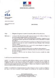 MINISTÈRE DE LA DÉFENSE - Ixarm