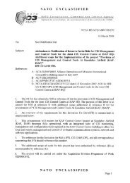 NATO UNCLASSIFIED NATO UNCLASSIFIED - Ixarm