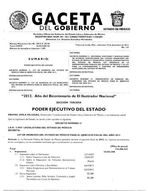 Poder Ejecutivo Del Estado Ixtapaluca