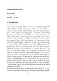 Künste und Kulturen bilden - Interdisziplinäres Zentrum Ästhetische ...