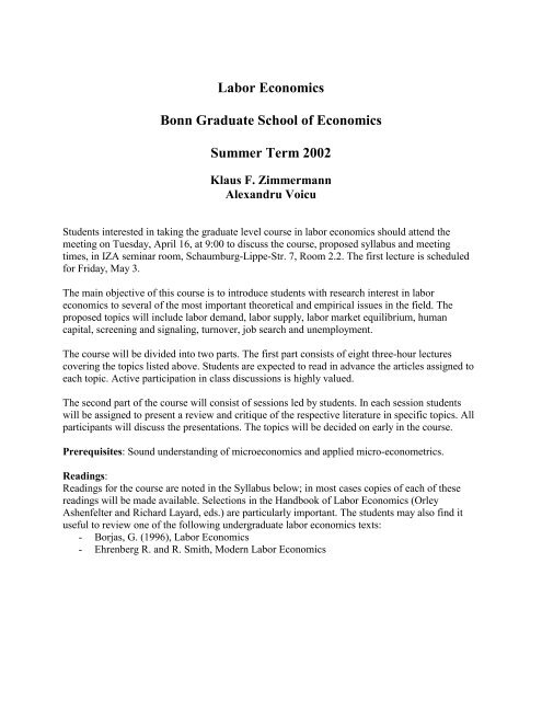 microeconomics issues articles