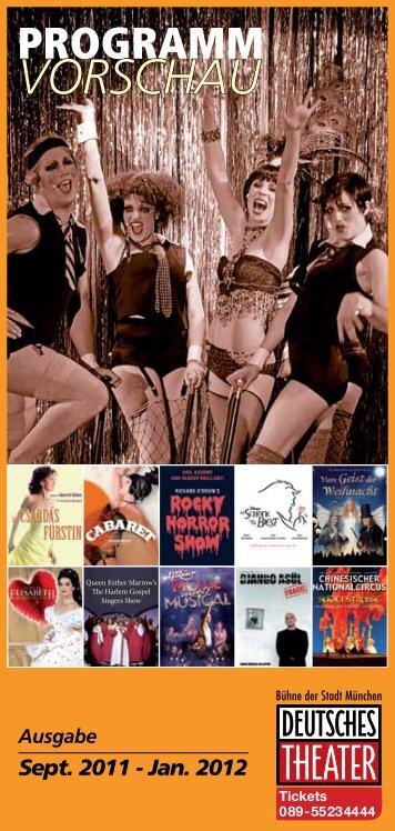 Sept. 2011 - Jan. 2012 - Deutsches Theater