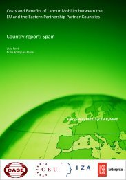 Country report: Spain - CASE