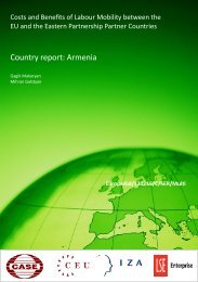Country report: Armenia - CASE