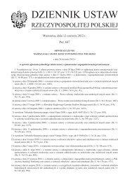 DZIENNIK USTAW - Internetowy System Aktów Prawnych