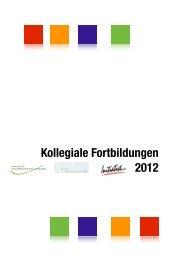 Kollegiale Fortbildungen 2012 - Initiative zur sozialen Rehabilitation ...