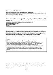 Fragebogen für das sozialpsychiatrische Versorgungssystem der ...