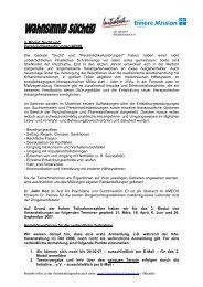 info modul 3 - Initiative zur sozialen Rehabilitation eV