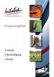 Heft Freizeitangebote 2012.indd - Initiative zur sozialen ...