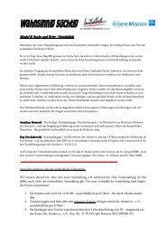 Modul 8 - Initiative zur sozialen Rehabilitation eV
