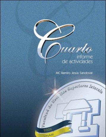cuarto informe de actividades - Facultad de Estudios Superiores ...