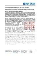 Factsheet Gefahrstoffkennzeichnung - Seite 2