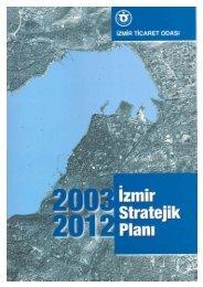 İzmir Stratejik Planı - İzmir Ticaret Odası