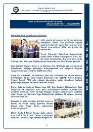 İzmir'deki Yerli ve Yabancı Yatırımlar 2003 yılında Avrupa'nın en ...