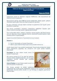 Odamızın Bankalarla İmzaladığı Kredi Protokollerinin ...