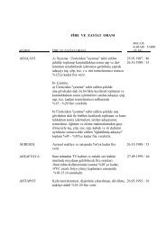 Fire ve Zayiat Oranları - İzmir Ticaret Odası