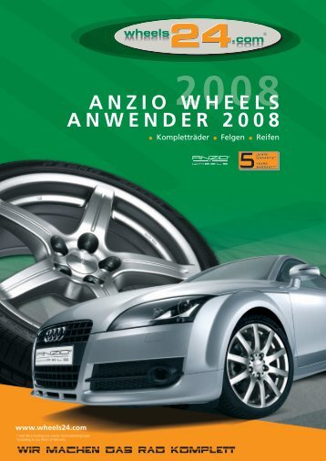 ANZIO WHEELS ANWENDER 2008 - Republika WWW