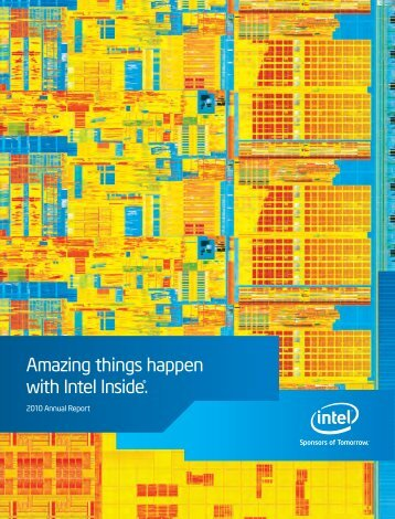 Amazing things happen with Intel Inside®. - Corporate Solutions