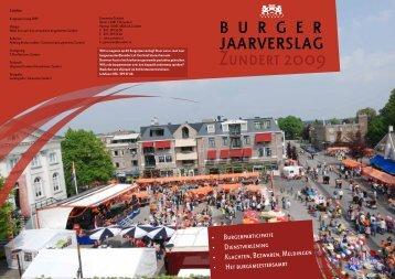 Zundert 2009 - Jaarverslag.com
