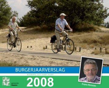 Burgerjaarverslag 2008.pdf - Jaarverslag.com