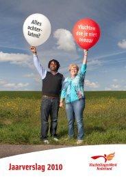 Jaarverslag 2010 - VluchtelingenWerk Nederland