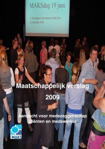 Maatschappelijk verslag 2009 - Jaarverslag.com