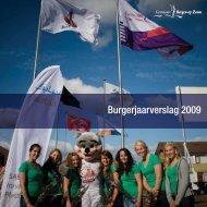 Burgerjaarverslag 2009 - Jaarverslag.com