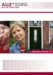 Download jaarverslag Allerzorg Jaarverslag 2009 - Jaarverslag.com