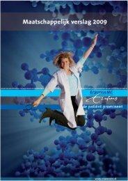 Maatschappelijk verslag 2009 - Erasmus MC