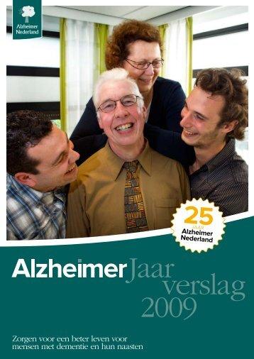 Jaarverslag 2009 - Alzheimer Nederland