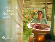 Kraft Foods Delicious World Report 2010