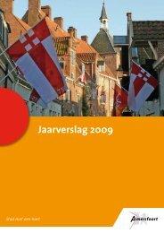 Jaarverslag 2009 - Jaarverslag.com