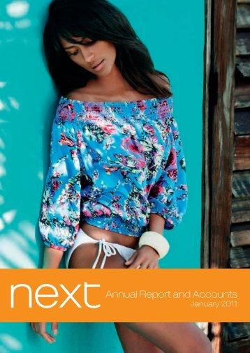 Next is a UK based retailer offering exciting - Jaarverslag.com