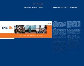 2003 Annual Report (PDF 1.47 MB) - ING.com